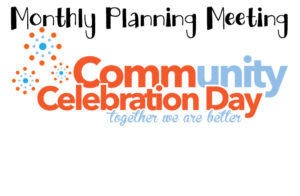 Monthly Planning Meeting - Community Day